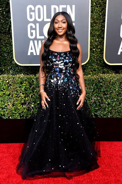 BEVERLY HILLS, CA - JANUARY 06:  Isan Elba attends the 76th Annual Golden Globe Awards at The Beverly Hilton Hotel on January 6, 2019 in Beverly Hills, California.  (Photo by Frazer Harrison/Getty Images)