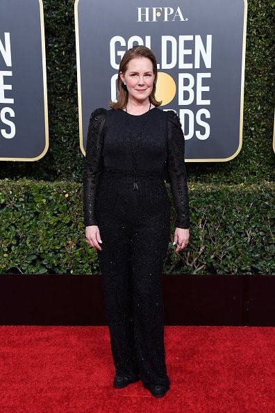 BEVERLY HILLS, CA - JANUARY 06:  Elizabeth Perkins attends the 76th Annual Golden Globe Awards at The Beverly Hilton Hotel on January 6, 2019 in Beverly Hills, California.  (Photo by Frazer Harrison/Getty Images)