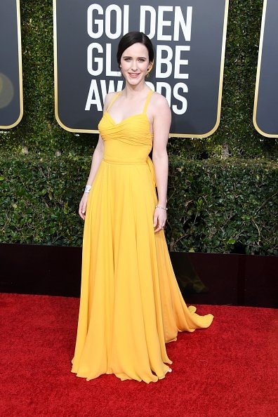 BEVERLY HILLS, CA - JANUARY 06:  Rachel Brosnahan attends the 76th Annual Golden Globe Awards at The Beverly Hilton Hotel on January 6, 2019 in Beverly Hills, California.  (Photo by Jon Kopaloff/Getty Images)
