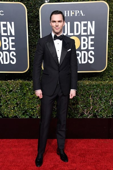 BEVERLY HILLS, CA - JANUARY 06:  Nicholas Hoult attends the 76th Annual Golden Globe Awards at The Beverly Hilton Hotel on January 6, 2019 in Beverly Hills, California.  (Photo by Frazer Harrison/Getty Images)