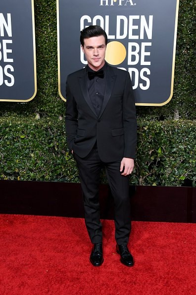 BEVERLY HILLS, CA - JANUARY 06: Finn Wittrock attends the 76th Annual Golden Globe Awards at The Beverly Hilton Hotel on January 6, 2019 in Beverly Hills, California.  (Photo by Jon Kopaloff/Getty Images)