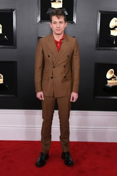 LOS ANGELES, CALIFORNIA - FEBRUARY 10: Charlie Puth attends the 61st Annual GRAMMY Awards at Staples Center on February 10, 2019 in Los Angeles, California. (Photo by Jon Kopaloff/Getty Images)