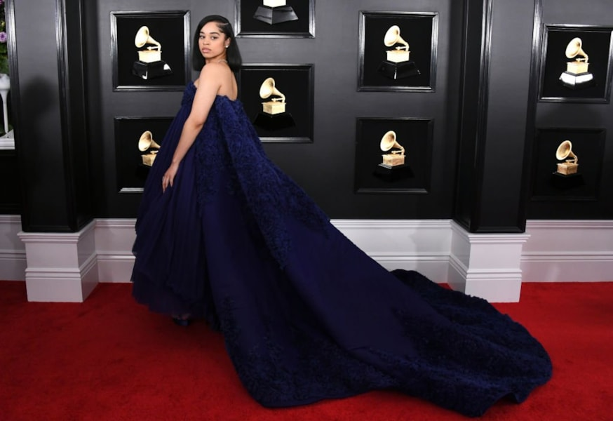 LOS ANGELES, CALIFORNIA - FEBRUARY 10: Ella Mai attends the 61st Annual GRAMMY Awards at Staples Center on February 10, 2019 in Los Angeles, California. (Photo by Jon Kopaloff/Getty Images)