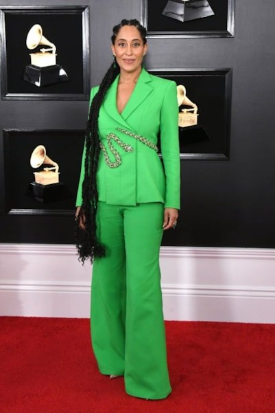 LOS ANGELES, CALIFORNIA - FEBRUARY 10: Tracee Ellis Ross attends the 61st Annual GRAMMY Awards at Staples Center on February 10, 2019 in Los Angeles, California. (Photo by Jon Kopaloff/Getty Images)