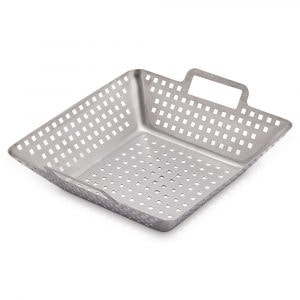 STAINLESS STEEL GRILL BASKET